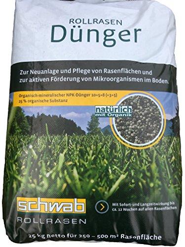 SCHWAB Rollrasendünger® 25 kg
